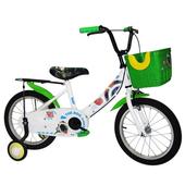 《Adagio》16吋酷樂狗打氣胎童車附置物籃-綠色