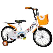 《Adagio》16吋酷樂狗打氣胎童車附置物籃-橘色