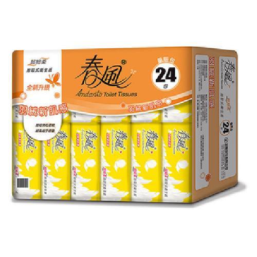 春風 超細柔抽取衛生紙(110抽*24包/串)