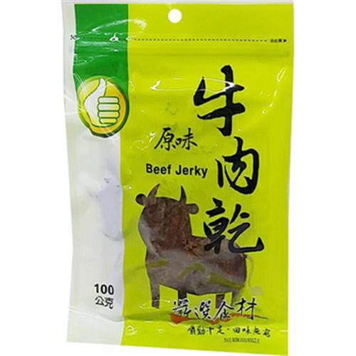 FP 原味牛肉乾(100g/包)