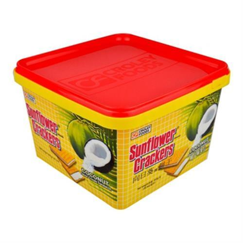 向日葵 椰子夾心餅(800公克/桶)