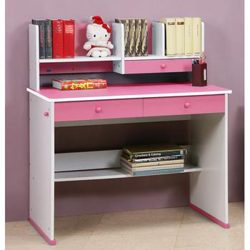 C&B 快樂學習機能型成長書桌(公主粉)