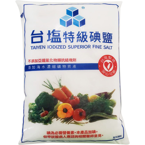 台鹽 特級精鹽(1000g/包)