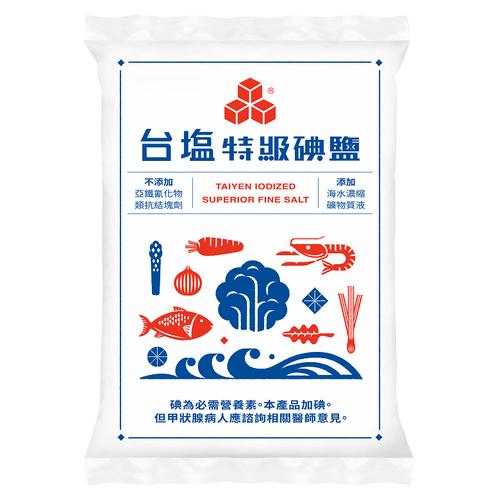 《台鹽》特級精鹽(1000g/包)