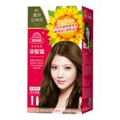 《美吾髮》葵花亮澤染髮霜-4C號 薑餅亞麻棕(40g+60g/盒)