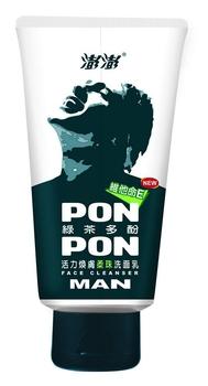澎澎 MAN綠茶多酚洗面乳(100g/瓶)