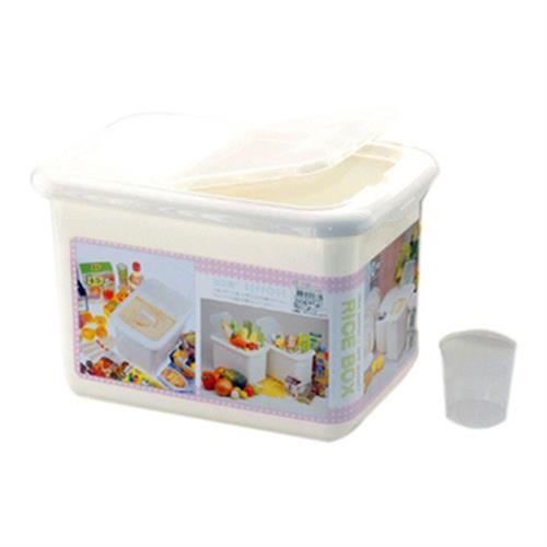 康嘉 日式米箱-附量米杯(10kg-長33公分*寬23公分*高22.5公分)