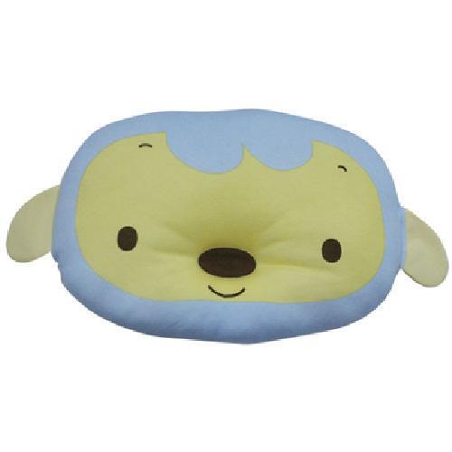 《優生》小優棉嬰兒枕(粉藍/個)