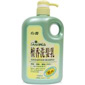 《白雪》檀香洗髮乳(1200ml/桶)