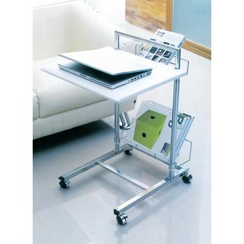 C&B 小原移動式升降萬用桌(純境白)