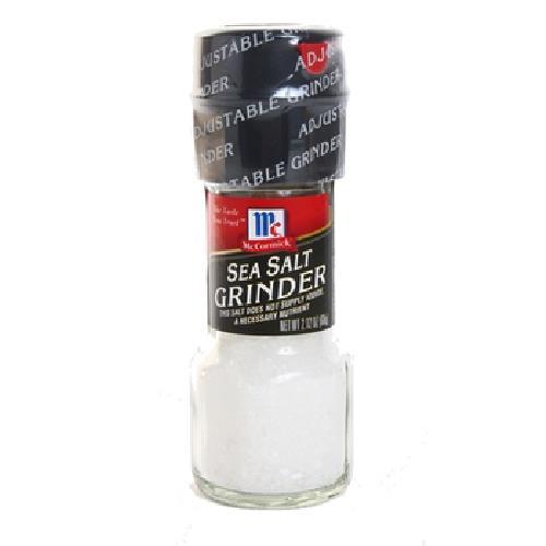 味好美 自磨式純淨海鹽(60g/瓶)