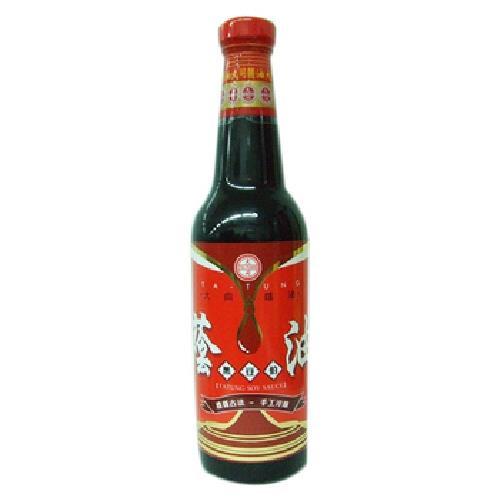 大同 黑豆伯蔭油(500g/瓶)
