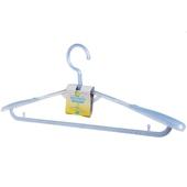 《FP》塑膠珠光伸縮衣架-粉藍(1支)