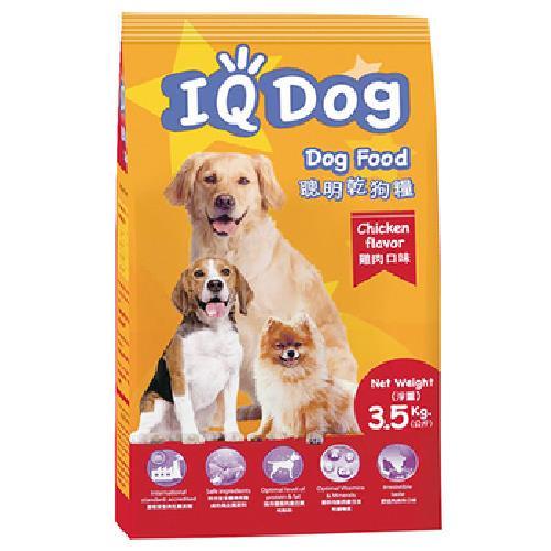 IQ Dog 聰明乾狗糧--雞肉口味(3.5kg/包)