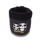 竹炭熊貓冷氣口置物袋