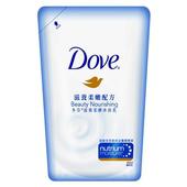 《Dove》多芬滋養柔膚沐浴乳補充包-滋養柔嫩(650ml/包)