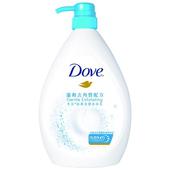 《Dove》多芬滋養柔膚沐浴乳溫和去角質(1000ml/瓶)
