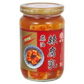 《江記》麻油辣腐乳(340g/瓶)