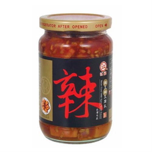 江記 辣豆瓣豆腐乳(370g/瓶)