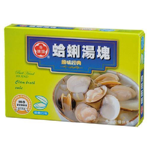 牛頭牌 蛤蜊湯塊(11g*6塊/盒)