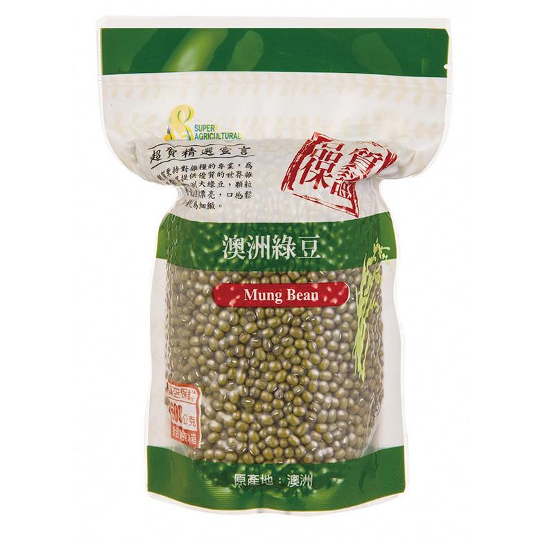 《茂喜》澳洲綠豆(600g/包)