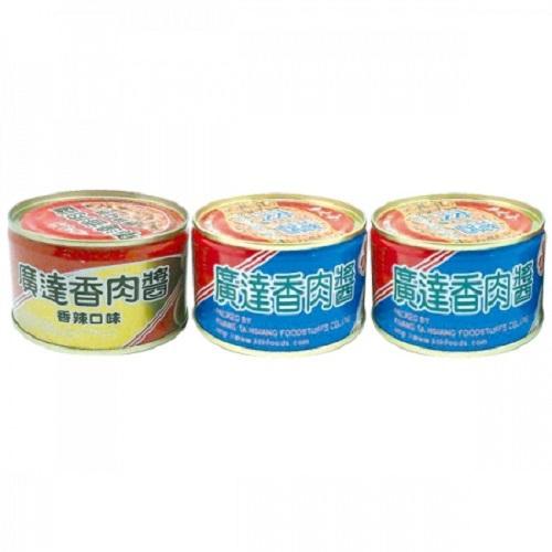 廣達香 肉醬組合包(160g*3罐/組)