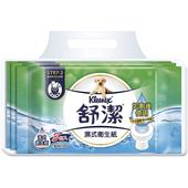 《舒潔》濕式衛生紙家庭號(40抽*3包/串)