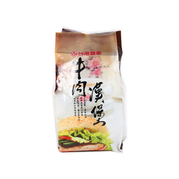 台畜 牛肉漢堡(600g)