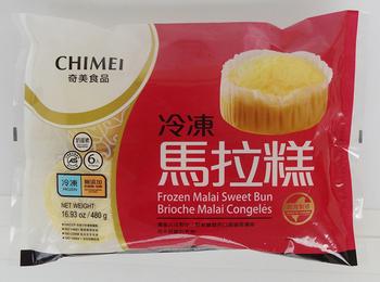 奇美 冷凍馬拉糕(80gx6入/包)