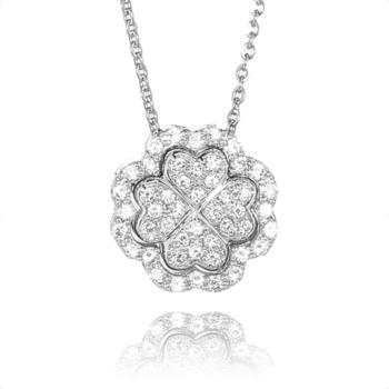 大東山珠寶 Luperla 璀璨滿鑽系列之百變幸運草
