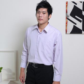 JIA HUEI 長袖男仕吸濕排汗防皺襯衫 3158系列 條紋粉(15.5)