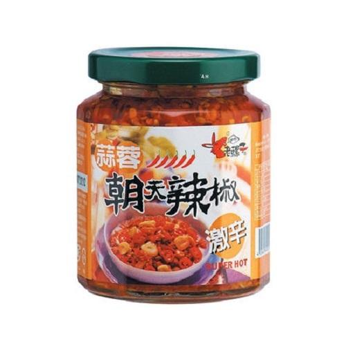 老騾子 蒜蓉朝天辣椒(105g/瓶)