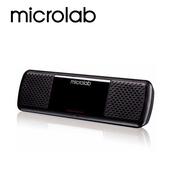 《Microlab》MD 200  USB 2.0聲道可攜式多媒體音箱(黑)