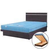 《Homelike》麗緻3.5尺單人掀床組(床台+床頭片)(胡桃色)