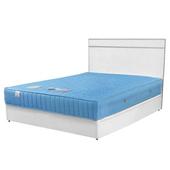 《Homelike》麗緻3.5尺單人床組(床台+床頭片)(純白色)