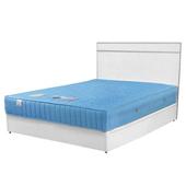 《Homelike》麗緻3.5尺單人床組(床台+床頭片)(胡桃色)