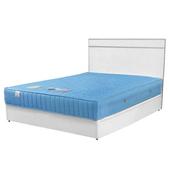 《Homelike》麗緻3.5尺單人床組(床台+床頭片)(柚木色)