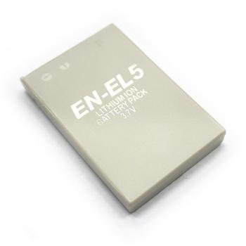 Nikon EN-EL5 3700 4200 P5100 5200 5900 7900 P3 P4 S10 P6000 相機電池(1150mAh)