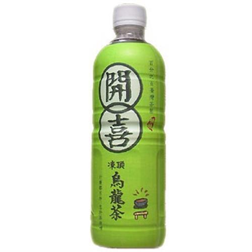 開喜 凍頂烏龍茶-無糖(575ml*4瓶/組)