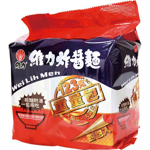 維力 炸醬麵重量包(123g*4入/組)