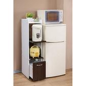 《C&B》一般型廚房隙縫電器櫃(胡桃色)