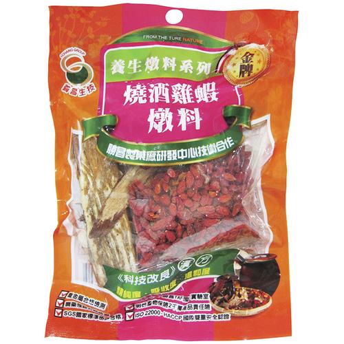 義昌 燒酒雞蝦燉料【調理用】(100g/包)