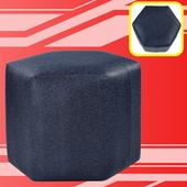 《BuyJM》摩卡6角沙發椅凳(稻穗藍)