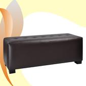 精緻時尚床尾椅(咖啡)