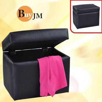 《BuyJM》艾莉絲鱷魚紋掀蓋椅(黑)