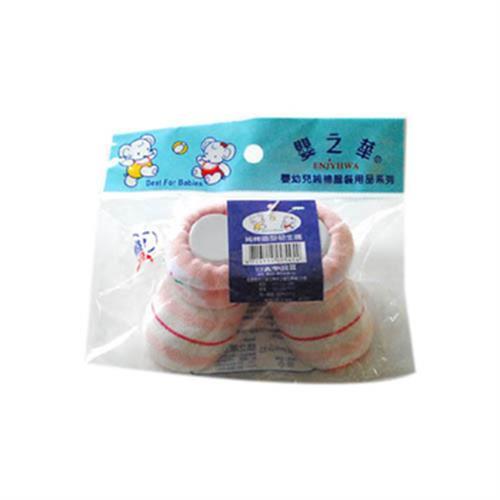 嬰之華 純棉造型初生襪子-free size(粉紅/雙)