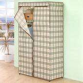 《百變金鋼》三層防塵衣櫥架 90*45*180cm