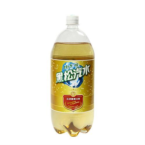 黑松 汽水(沁涼香檳口味)(2000ml/瓶)