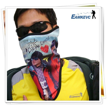 美國 EAMKEVC 最新限量 多功能保暖透氣防風防雪面罩 #199(我愛伊凱文-青)