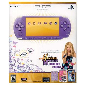 PSP-3001美規主機(紫色)孟漢娜同捆機